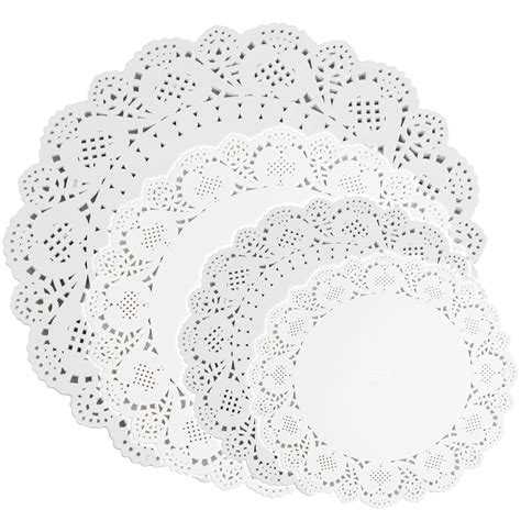 How To Make Paper Lace Doilies - white paper lace doilies 5 sizes wedding doily