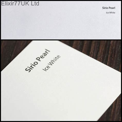 Craft Paper Uk - a4 or a5 craft paper card pearlescent white linen