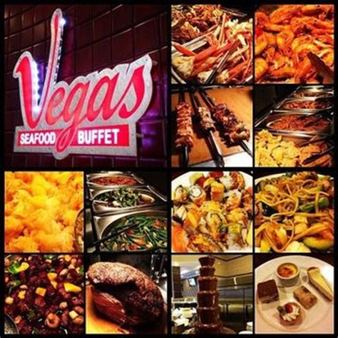dinner vegas seafood buffet with lobster steak see a