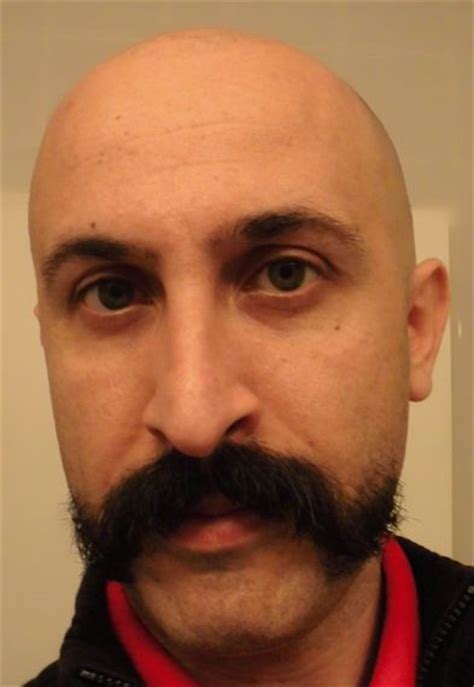 celebrities having moustaches with bald head beard bald head shaved head or buzzcut page 12