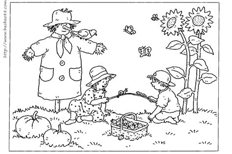 fall coloring pages for infants 秋天为主题的简笔画 家具
