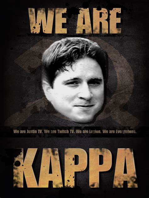 Twitch Memes - we are kappa by suushisam on deviantart