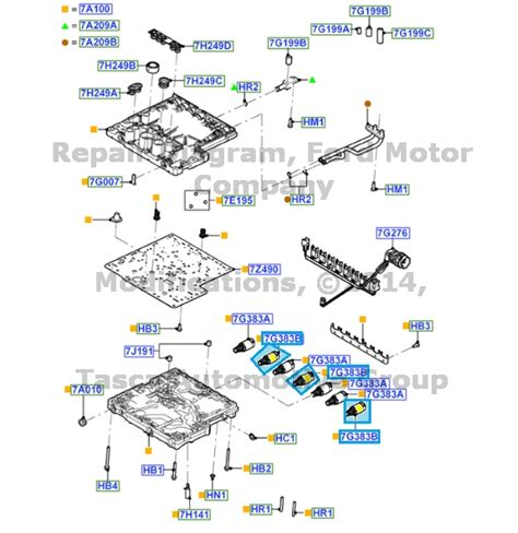 2011 ford transmission new oem transmission valve solenoid 2011 2013 ford