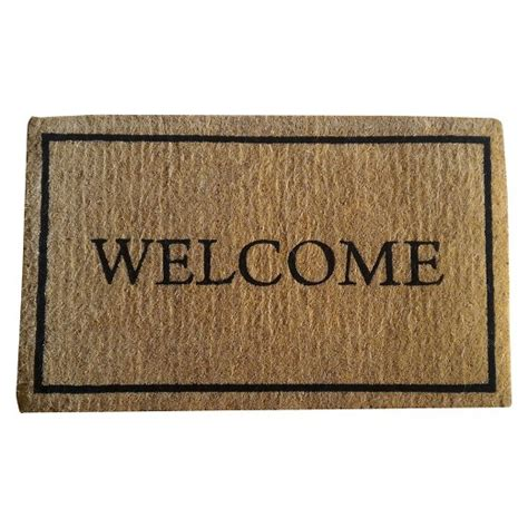 Doormat Shopping coir welcome doormat smith hawken target