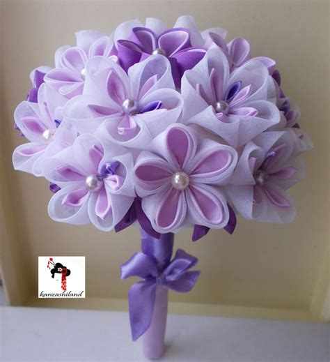 Wedding Bouquet Kanzashi Tutorial by 17 Best Images About Wedding On Peacocks