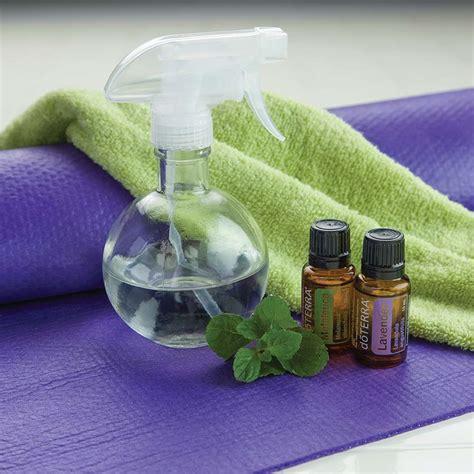 mat spray diy mat spray with lavender dōterra essential oils