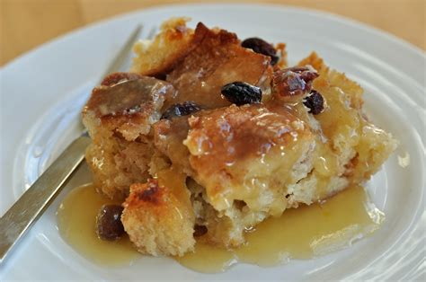 favorite bread and butter pudding with bourbon sauce recipe dishmaps
