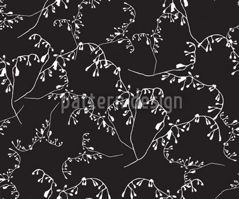 P00030cud1 Babycape Cuddle Me Motif Monochrome vein of branches seamless vector pattern