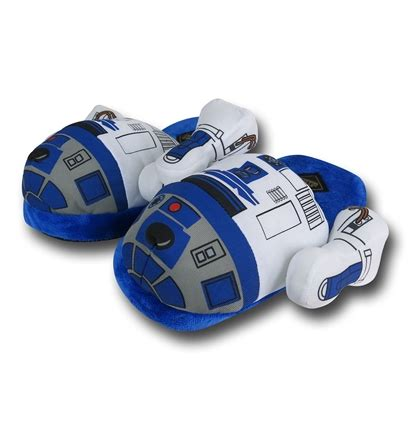 star wars house shoes star wars r2d2 slippers