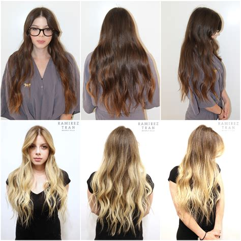 brown hair to blonde hair transformations brown to blonde hair transformations www pixshark com