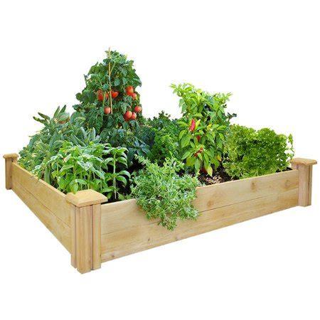 greenes fence      cedar raised garden bed