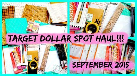 target dollar spot september 2015 target dollar spot haul youtube