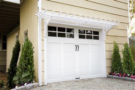 pergola garage door how to build a garage pergola this house