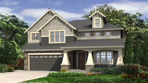 House Plans For Narrow Lots With Front Garage Narrow Lot House Plans With Front Garage Narrow Lot House Plans Small House Plans Craftsman