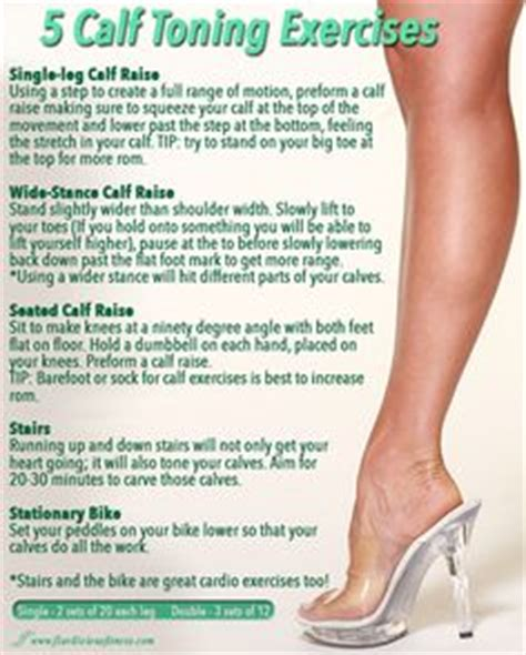 1000 ideas about calf exercises on calf