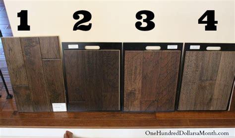 mavis remodel blog day  picking  hardwood tile