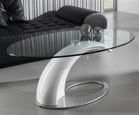 mesa de centro de diseno  tapa cristal