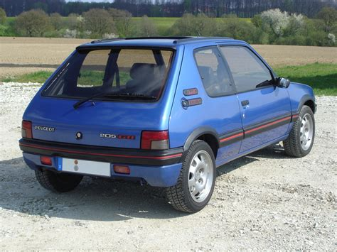 pug 205 gti 1986 1994 peugeot 205 gti 1 9 cars wallpapers