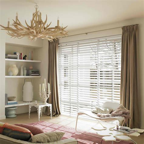 curtains over wood blinds internal white venetian blinds with blockout curtain over
