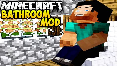 minecraft bathroom mod minecraft mods bathroom mod toilets showers baths in