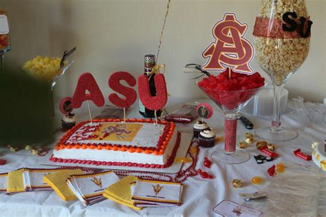 Going Away To College Decorations by Arizona State Graduation End Of School