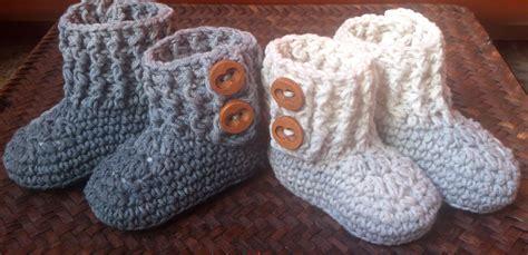 batitas en crochet y dos agujas para bebes 180 00 en mercadolibre botas para bebe ganchillo