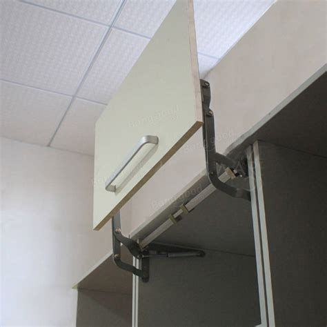 lift up cabinet door hardware original arm mechanism hinges vertical swing lift up stay