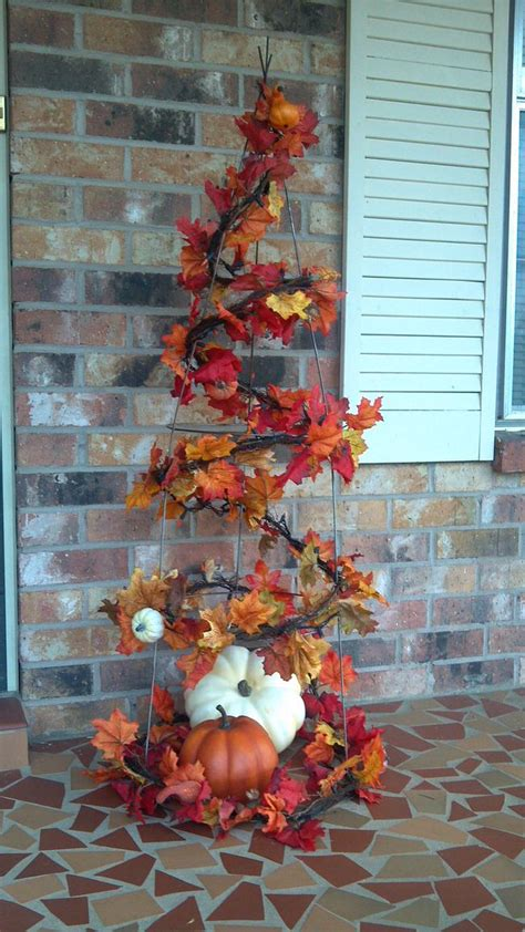 fall tree decorations fall front door decor ideas the garden glove