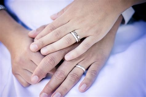 free photo rings hands wedding marriage free image