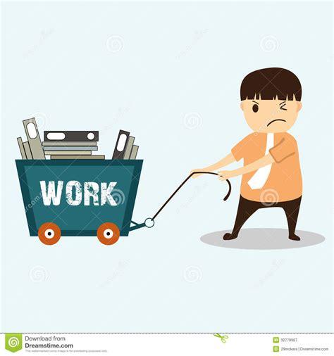 concept work image gallery hard worker cartoon