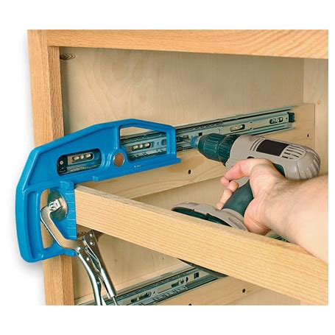 kreg magnetic drawer slide mounting tool tools4wood