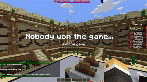 the master builder themes analysis the most hilarious ending to a master builders game ever