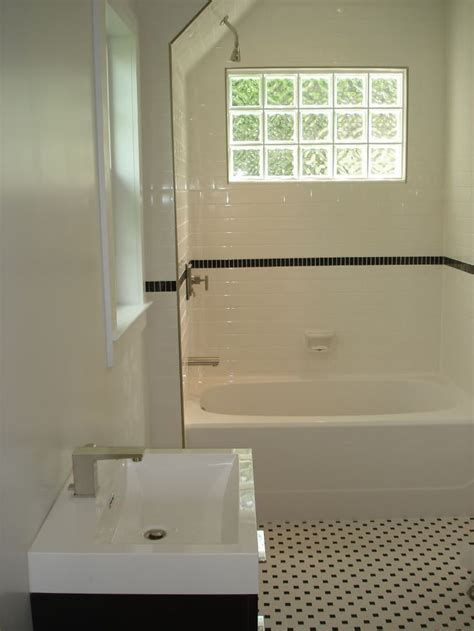 bathroom window glass block subway tile shower glass block window subway tile