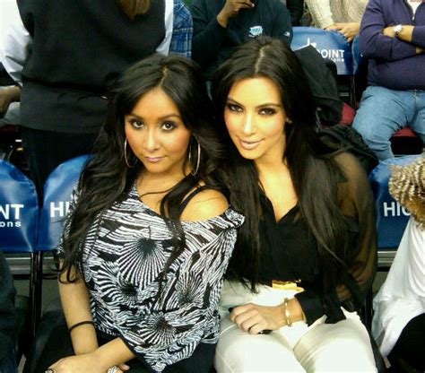 snooki and kim kardashian together