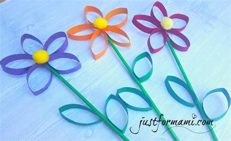 imagenes de flores con tubos de papel bao flores hechas con tubos de papel reciclados just for mami
