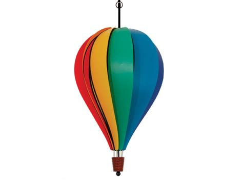 speelgoed luchtballon 10 panel hot air balloon spinner rainbow kite stop