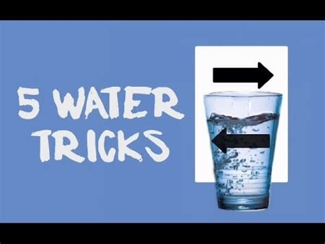 5 neat tricks you can try at home bio home by lam soon how to do cool tricks with water 8 water tricks thatll