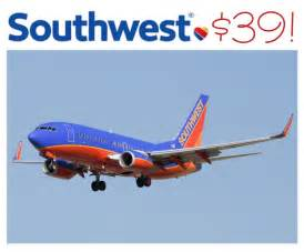 Flight Deals From Southwest Airlines Flights Deals As Low As 39
