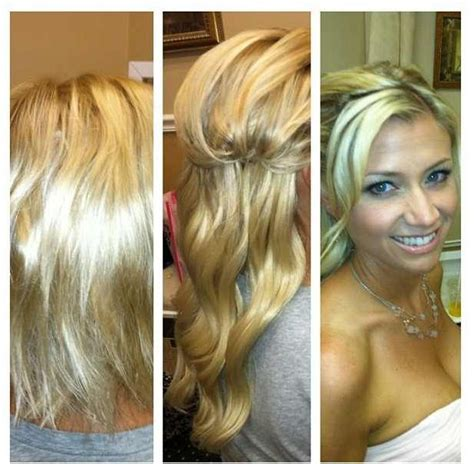 Wedding Hair Cocoa by 1000 Images About Wedding Day Hair Extensions Before