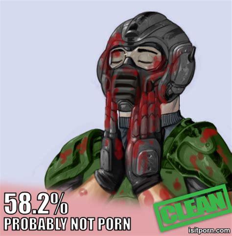 Doom Guy Meme - doom guy is it porn know your meme