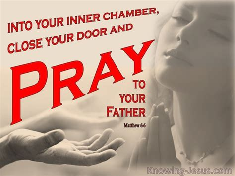 go to your room and pray matthew 6 6 verse of the day