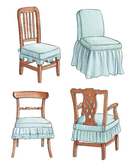 side chair slipcover slipcover a side chair dressmaker style threads
