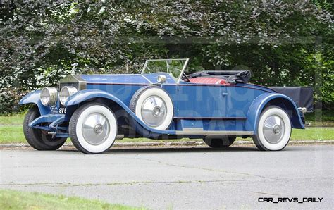 rolls royce roadster gooding pebble beach 2014 highlights 1926 rolls royce