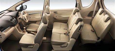 Maruti Eeco 7 Seater Interior View by Maruti S Mpv Ertiga 3 Row 7 Seater Interior Pictures