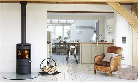 put a wood burning stove into your fireplace and it could