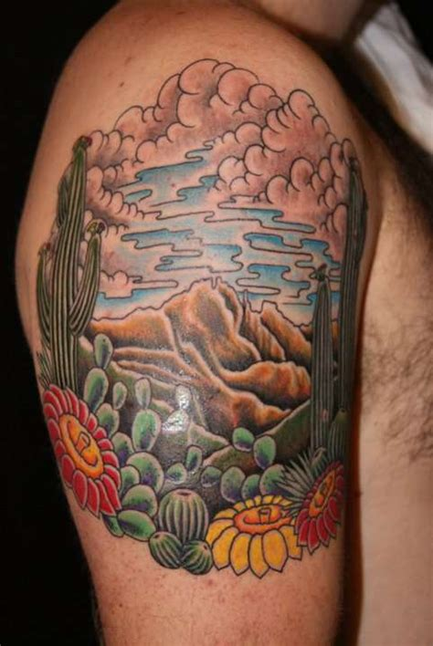 arizona tattoos designs cactus tattoos inspiring tattoos