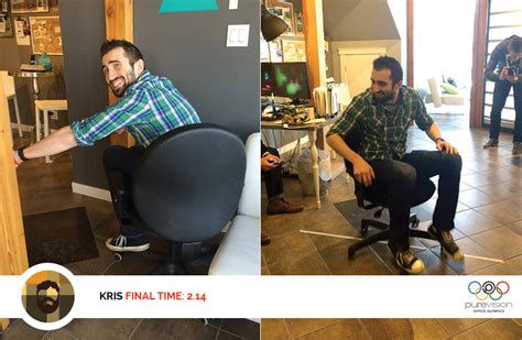 Office Chair Olympics by Office Olympics Office Chair Luge Keen Creative