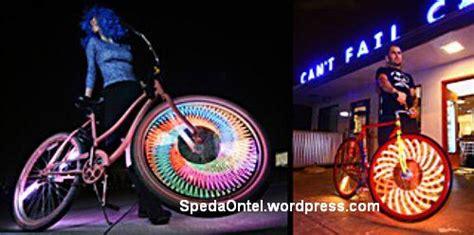 Lu Led Untuk Depan Sepeda cara buat lu headl led di sepeda sepeda onthel
