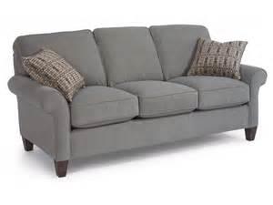 flexsteel living room fabric sofa 5979 30 tyndall