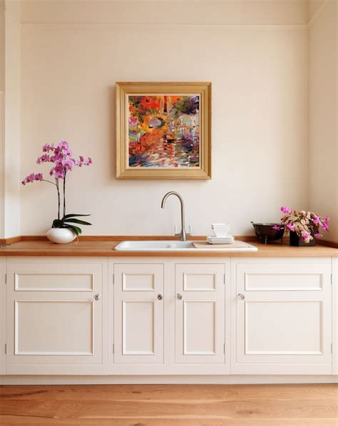 Dulux Paint For Kitchen Cabinets Harvey Jones Original Kitchen Painted In Dulux Calico Http Www Harveyjones Our